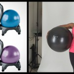 Have A Ball At Work: The Gaiam Balance Ball Chair