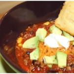 Protein Power Chili & No Guilt Cornbread