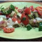 Baked Falafel & Israeli Salad [RECIPE]